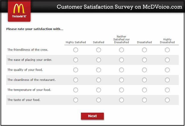 mcdonalds customer satisfaction
