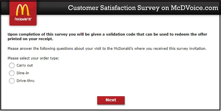 mcdvoice survey mcdonalds