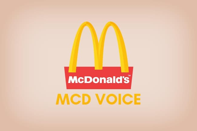 mcdvoice survey process 2020