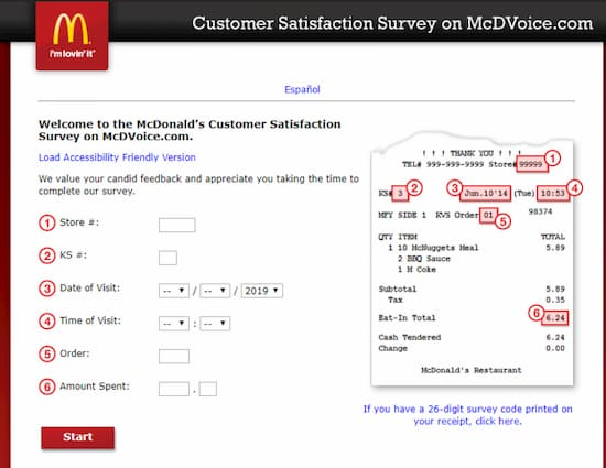 www.mcdvoice.com-survey